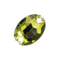 "Hairdreams® Swarovski Jewels ""Smaragd"" 30 cm"